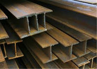 Galvanized Building Steel Beams I Shaped 8 - 11MM Web Thickness 9# 11# 12#