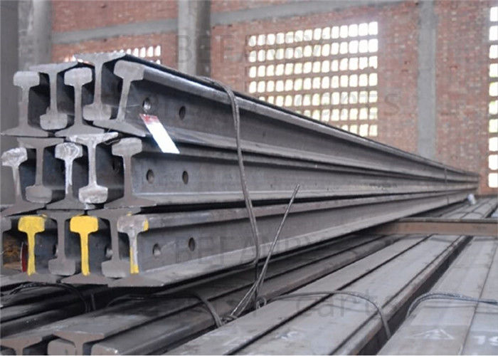 High Tensile Strength Train Track Steel , Base Dimension 79.37mm Railway Track Material