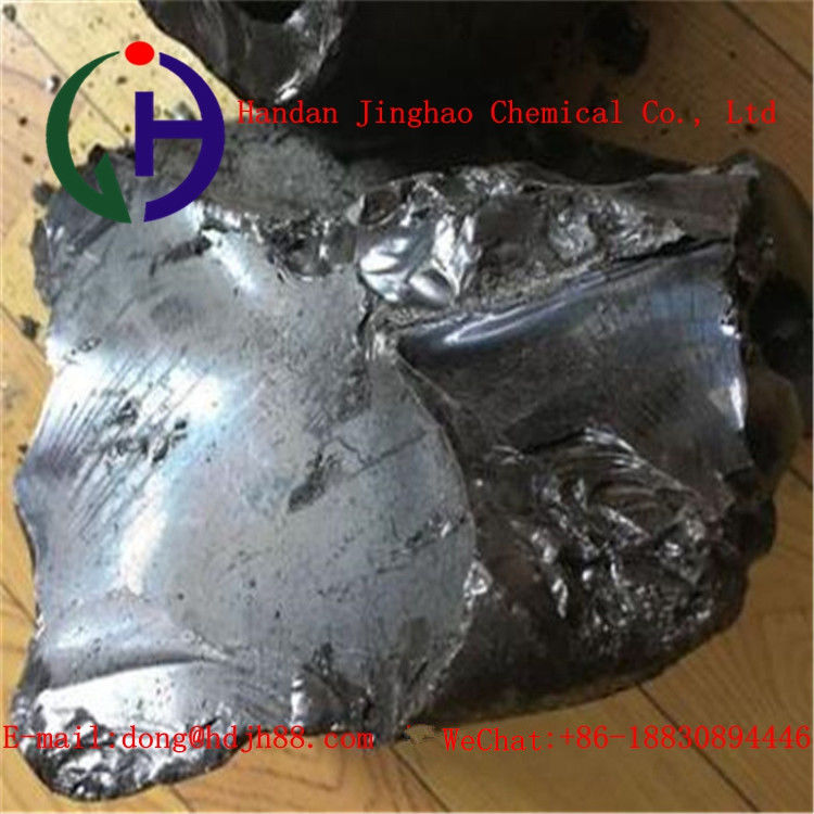 Black Solid Coal Tar Hard Binder Pitch Material For Pre-Baked Anode Cells